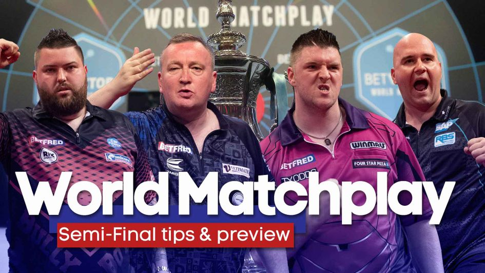Who will reach the World Matchplay final?