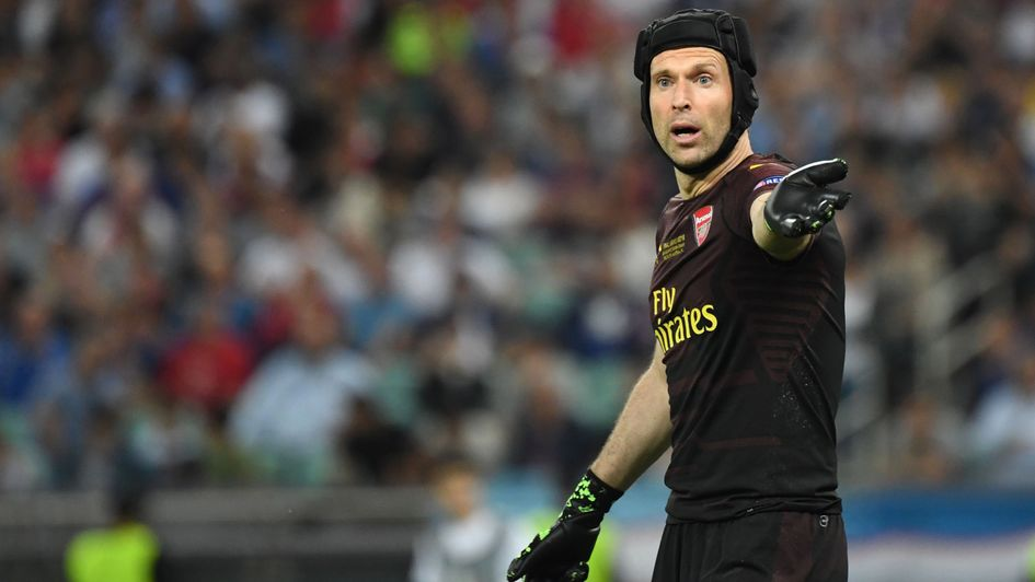 Petr Cech: The former Arsenal and Chelsea goalkeeper retired from football in May 2019