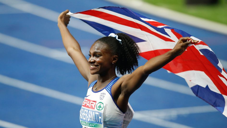 Dina Asher-Smith is the European 100m champion