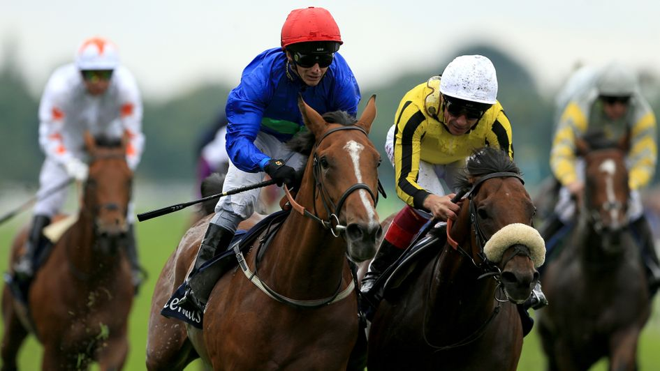 Wells Farhh Go - on trial for the Investec Derby