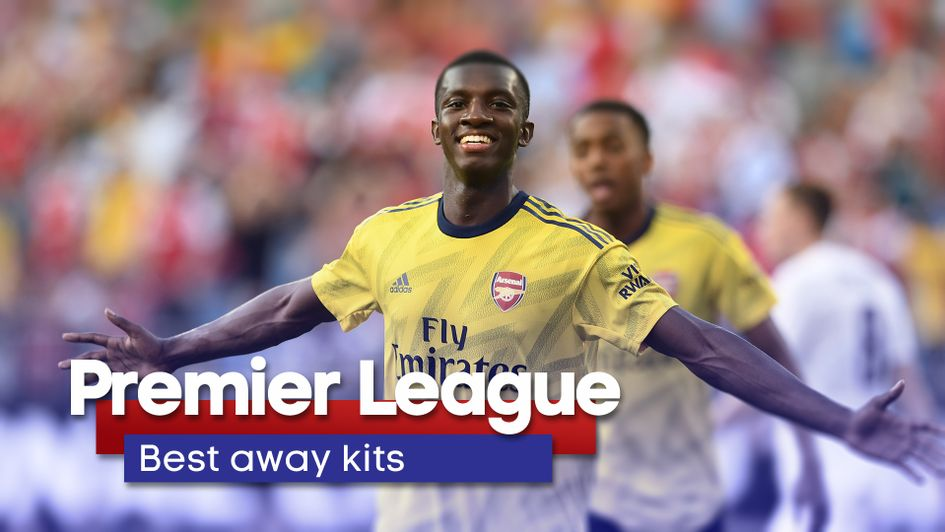 official photos 494c7 803ba Premier League away kits 2019/20: Ranked from worst to best ...