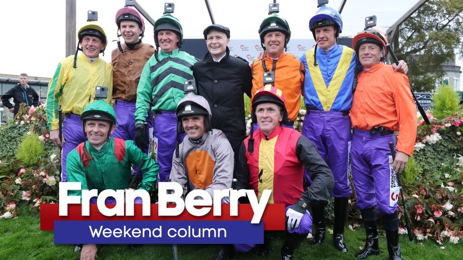 Pat Smullen was surrounded by friends and well-wishers last weekend