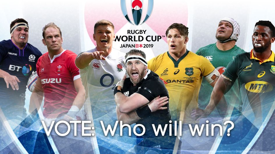Who do you think will win the Rugby World Cup?