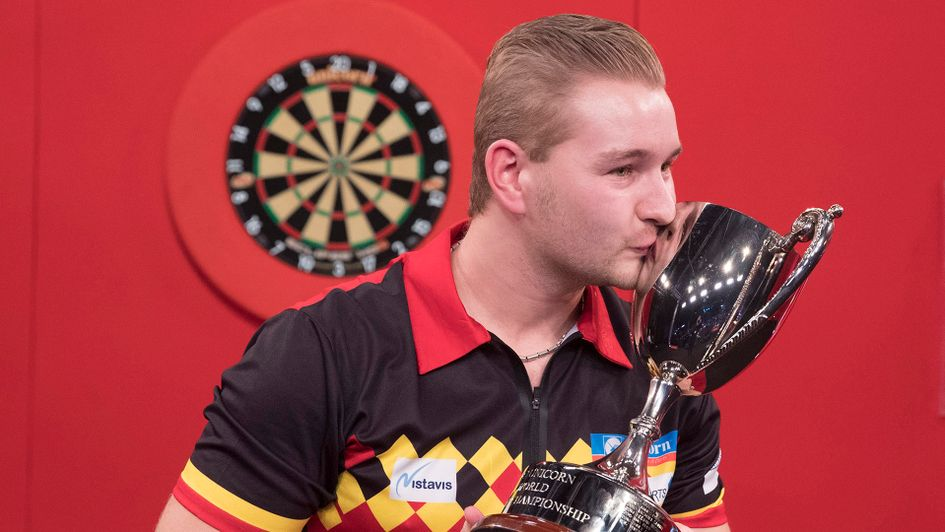 Dimitri van den Bergh: The World Youth Champion (Picture: PDC/Lawrence Lustig)
