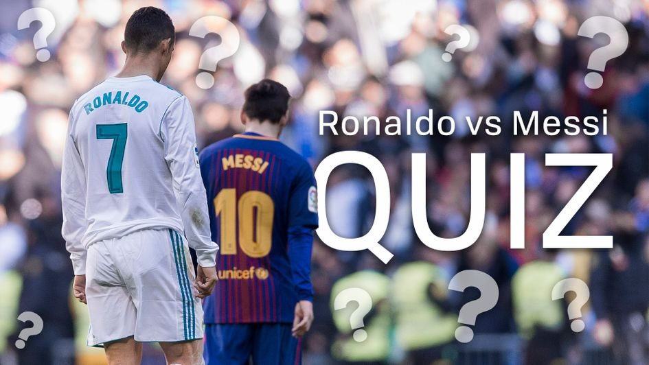 QUIZ: Ronaldo vs Messi