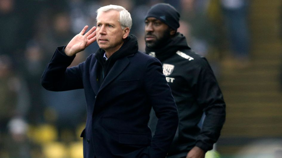 Alan Pardew: Under fire Baggies boss