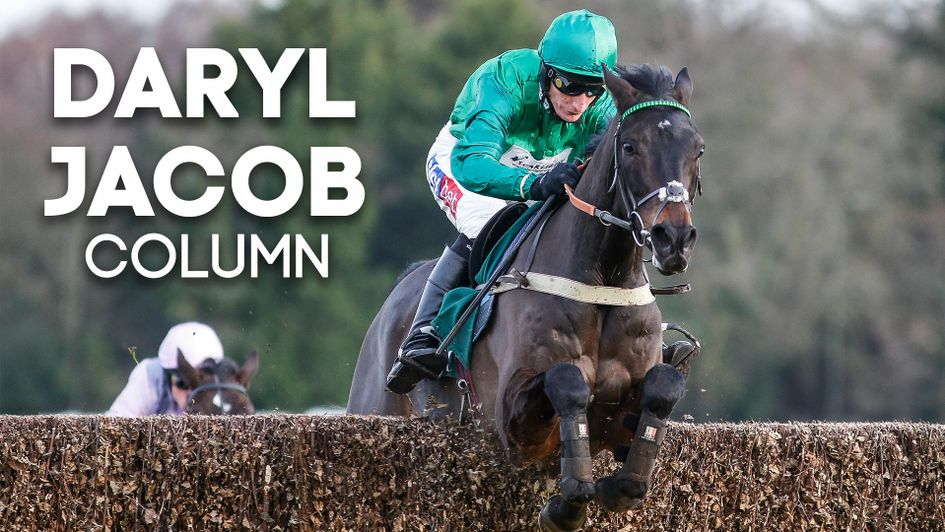 Daryl Jacob Column With A Guide To His Weekend Rides