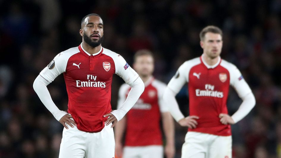 Frustration for Arsenal after Atletico Madrid's equaliser