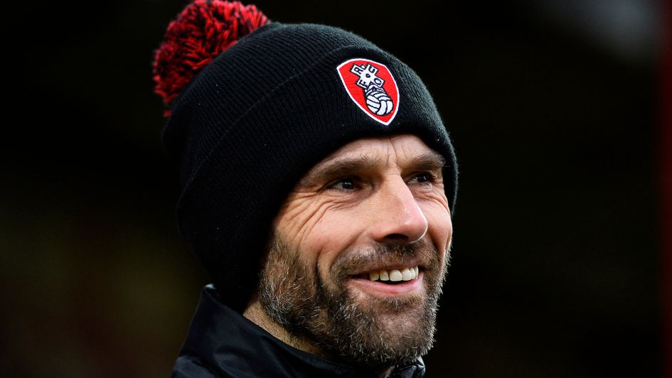 Rotherham manager Paul Warne