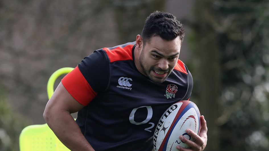 Ben Te'o in training for England