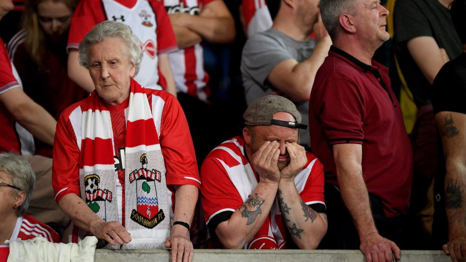 One Southampton fan doesn't want to watch the game against Leicester