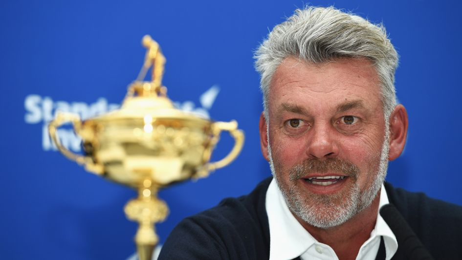 Europe's 2016 captain, Darren Clarke