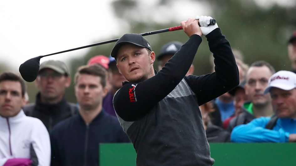 Eddie Pepperell - claimed share of the lead