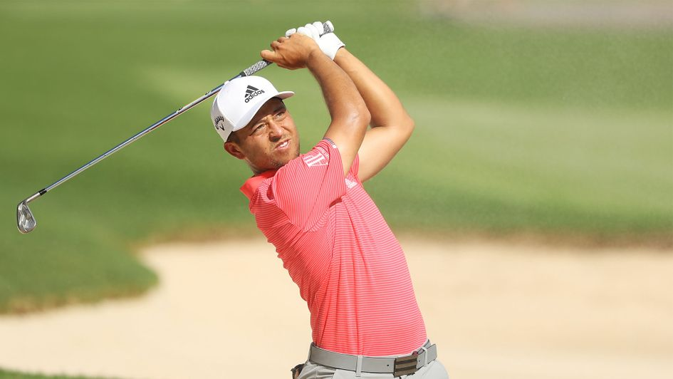 Xander Schauffele shares the lead at the Tour Championship after the first round