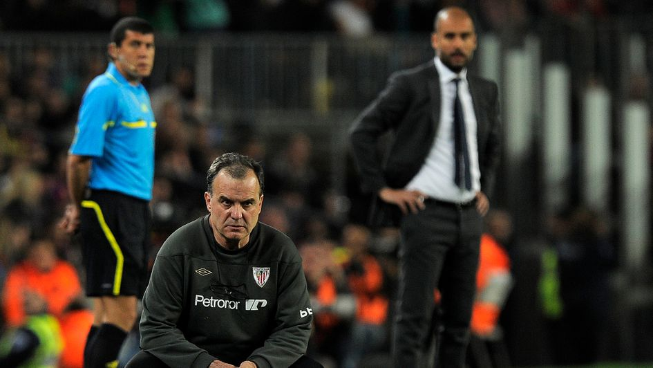 Marcelo Bielsa came up against Pep Guardiola during his time at Athletic Bilbao