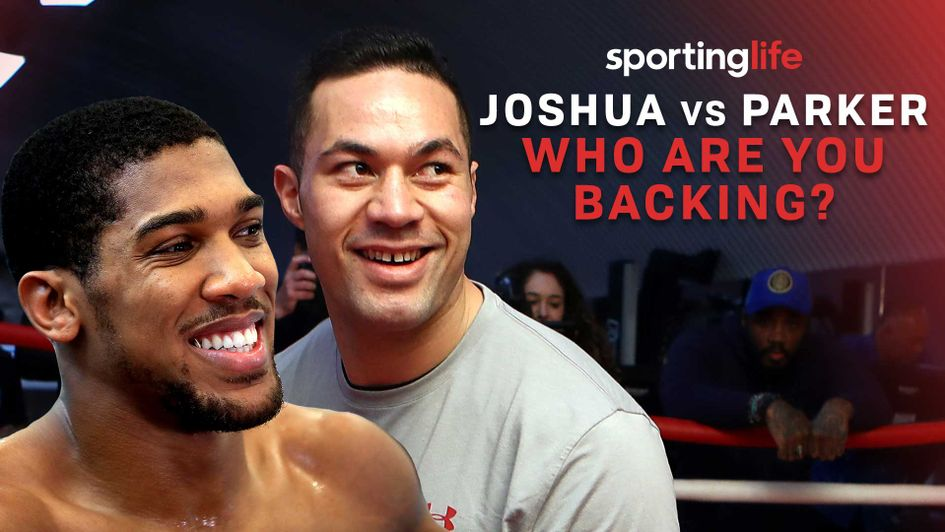 Anthony Joshua and Joseph Parker collide this weekend