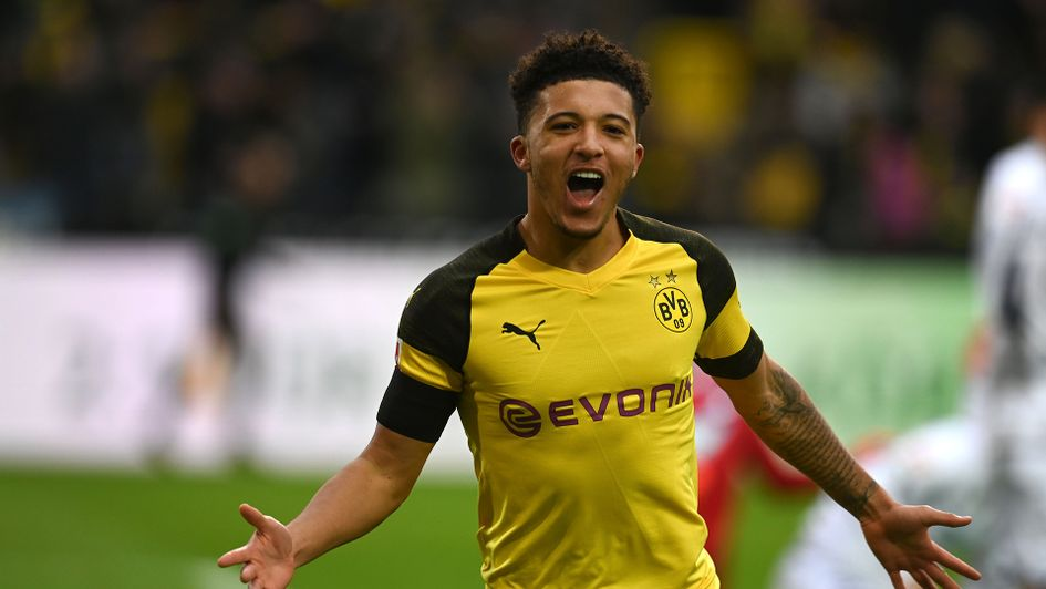 Jadon Sancho has been a star for Dortmund