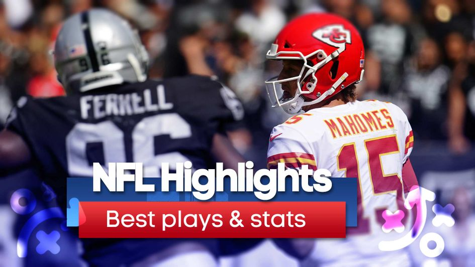 We pick out the best plays and stats from the latest round of NFL action
