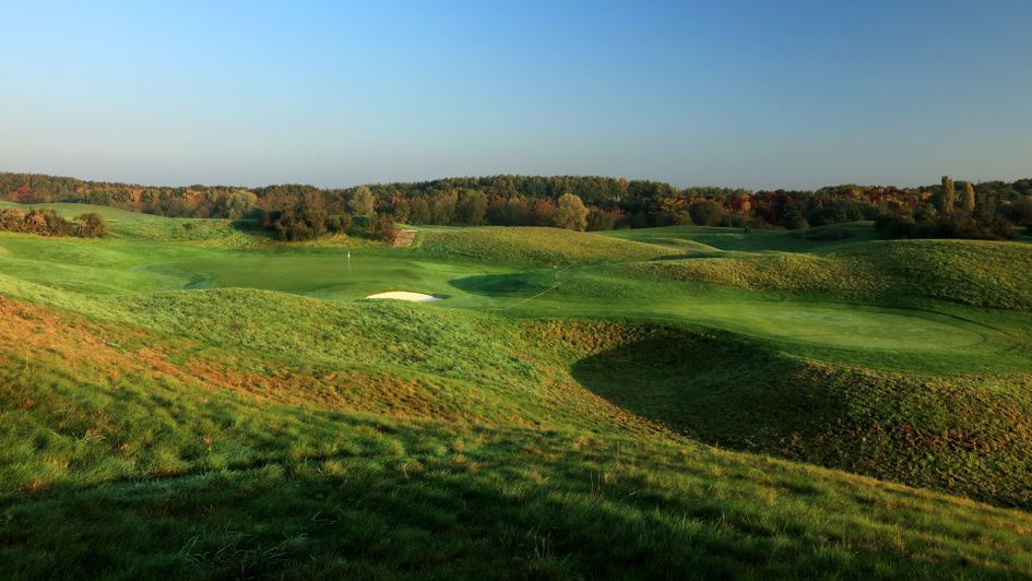 The eighth hole at Le Golf National