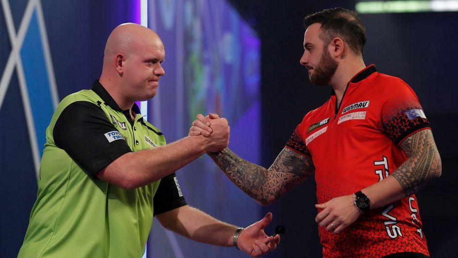 Darts results: Michael van Gerwen beats Joe Cullen in an epic as James Wade hits nine-dart finish in defeat