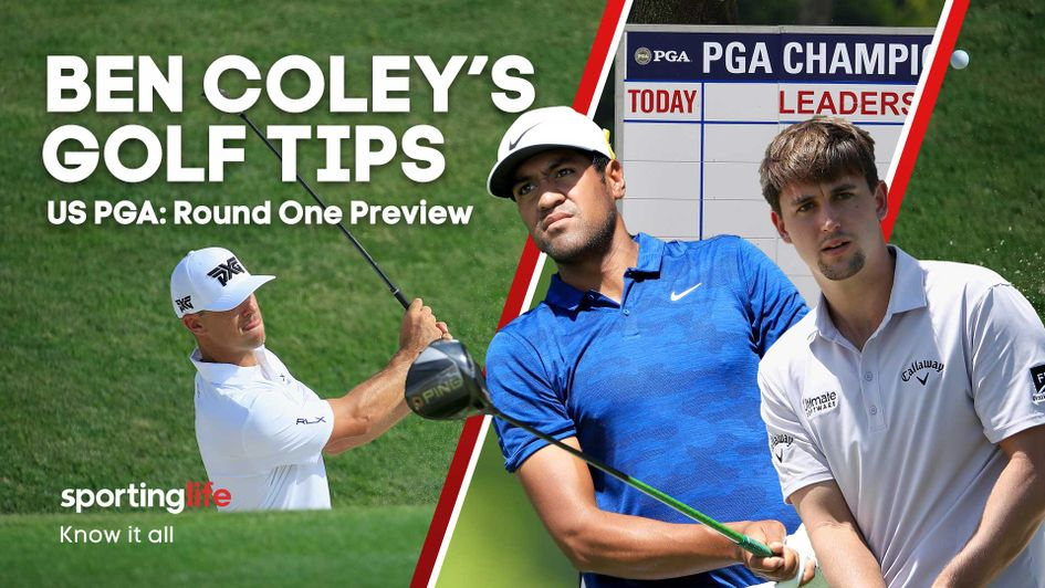 Ben Coley has a range of bets ahead of the opening round at the US PGA Championship