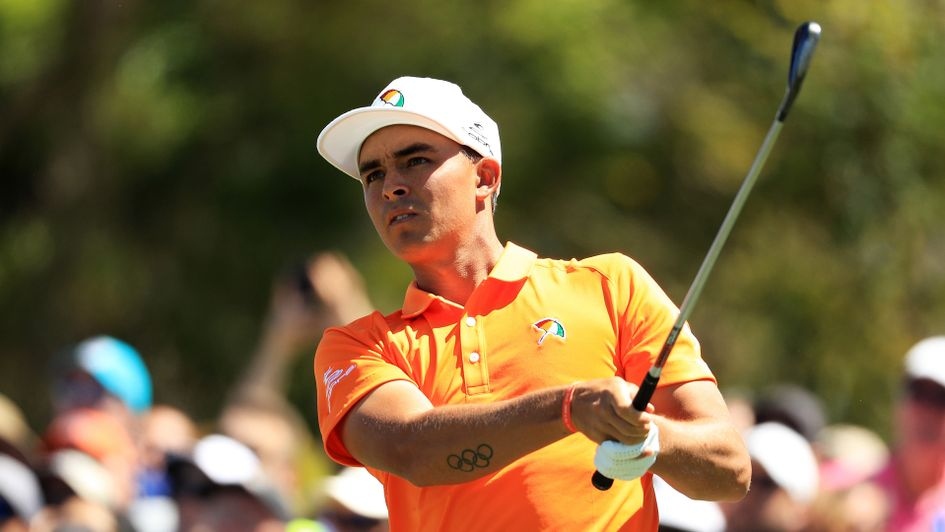Rickie Fowler pictured in last year's renewal