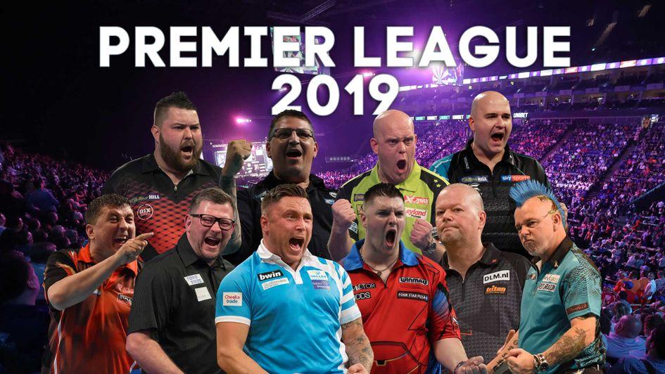 premier league darts 2019 dates fixtures line up results table