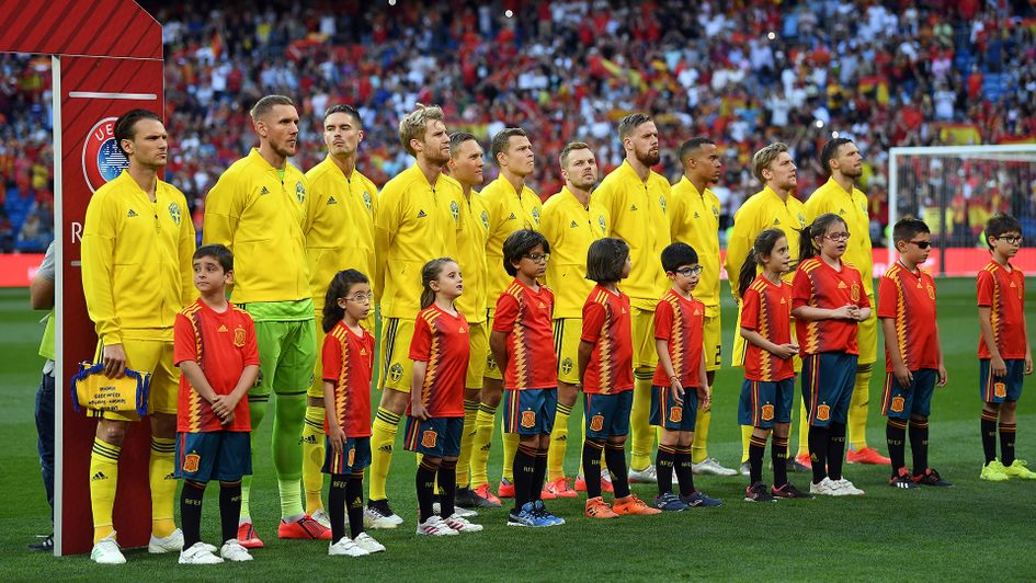 Sweden ahead of their clash with Spain