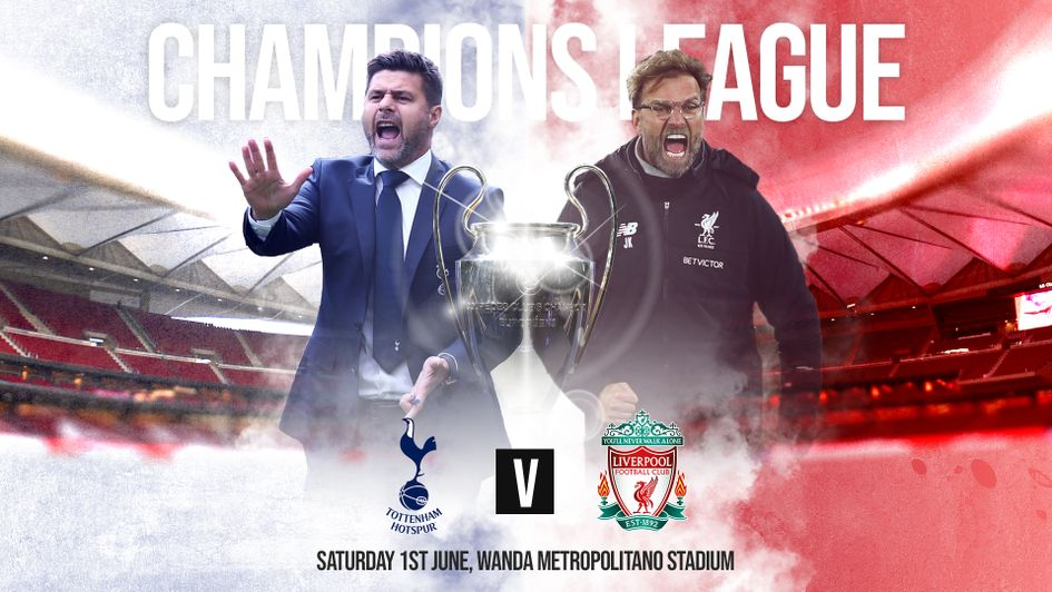 Follow the Champions League final, Tottenham v Liverpool, with Sporting Life