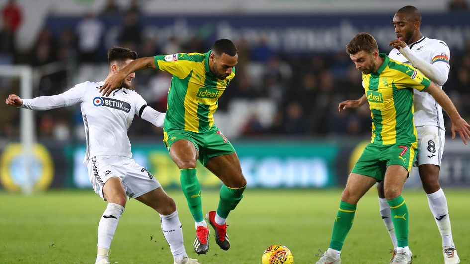 West Brom beat Swansea away from home