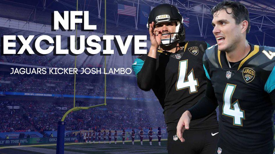 finest selection e5292 ee628 NFL Wembley exclusive: Jacksonville Jaguars kicker Josh ...