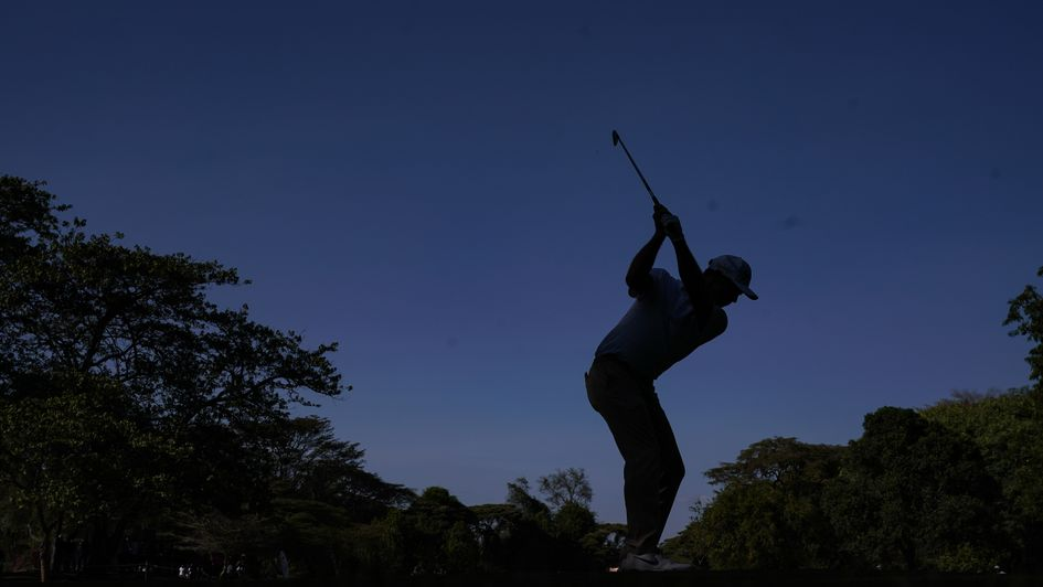 Adri Arnaus in action at the Kenya Open