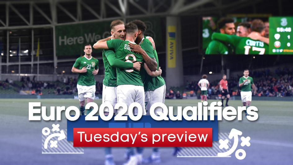 Our best bets for Tuesday's Euro 2020 Qualifying action