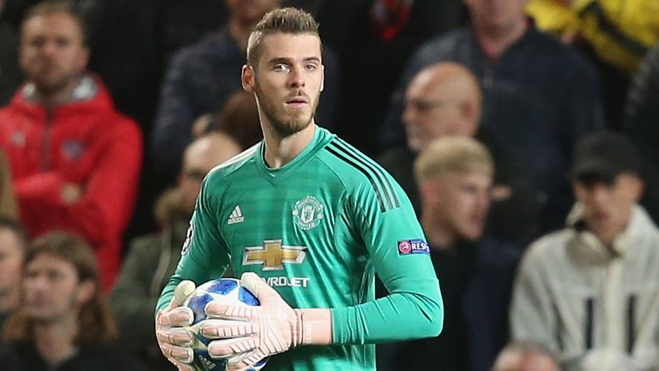 David de Gea: The 27-year-old is yet to agree a new contract at Manchester United