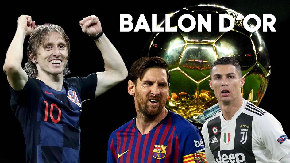 Luka Modric is big favourite to win the Ballon d'Or ahead of Messi and Ronaldo