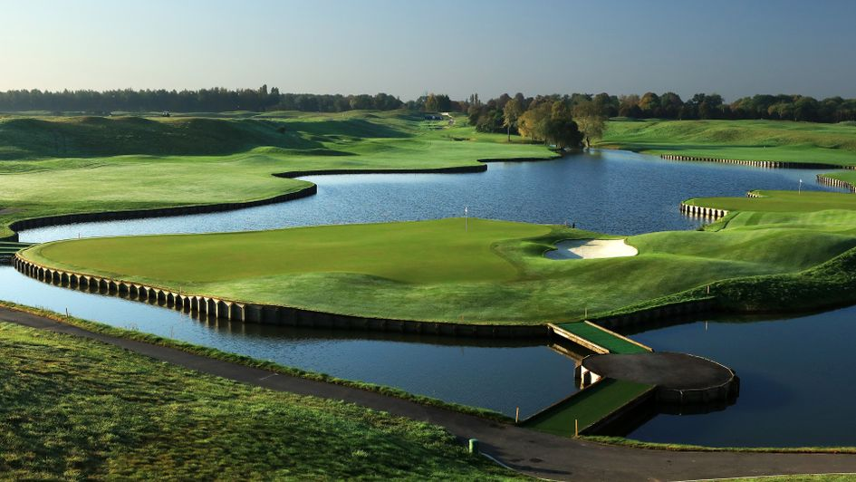 The 15th hole at Le Golf National