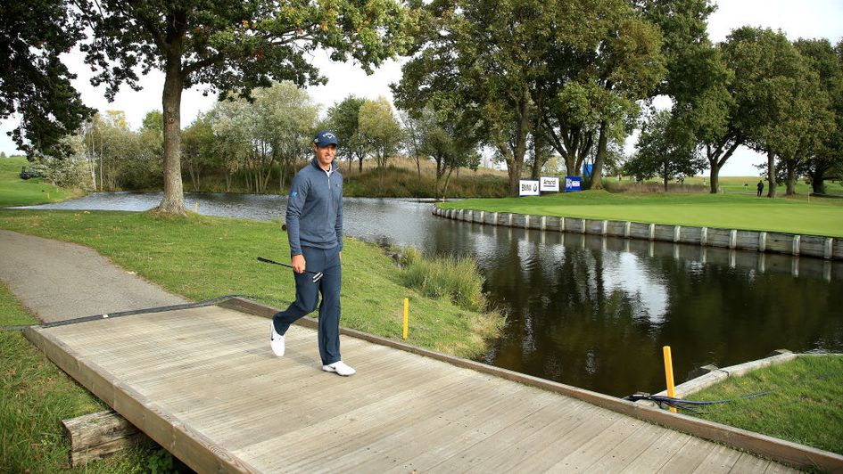 Nicolas Colsaerts strides into the lead at Le Golf National