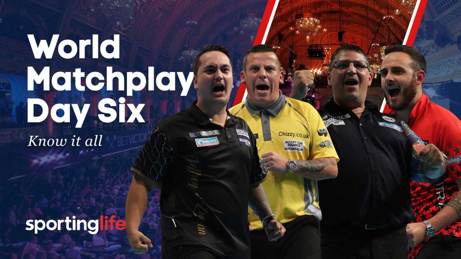 Who will reach the World Matchplay semi-finals?