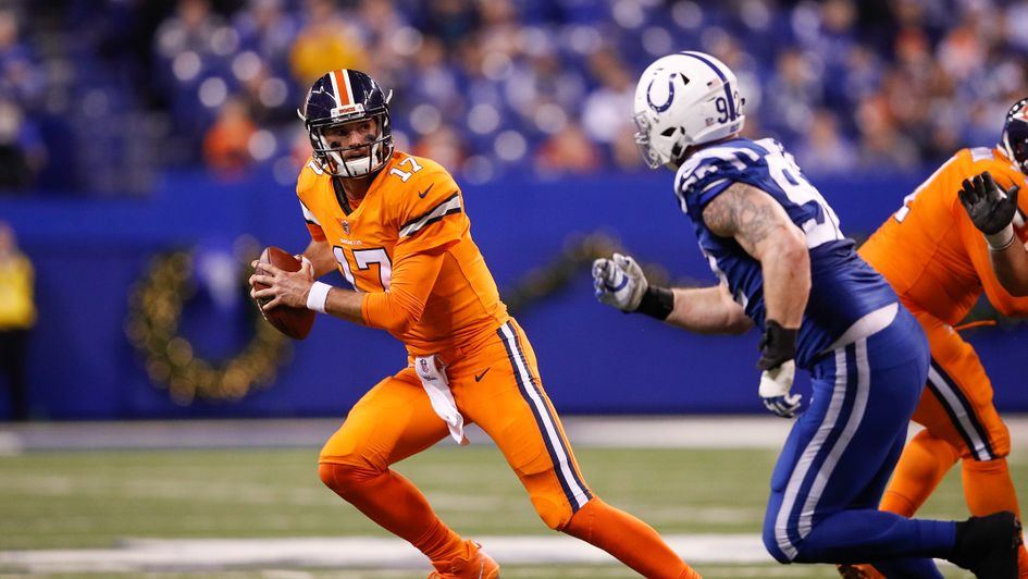 Brock Osweiler helped Denver claim victory at the Colts