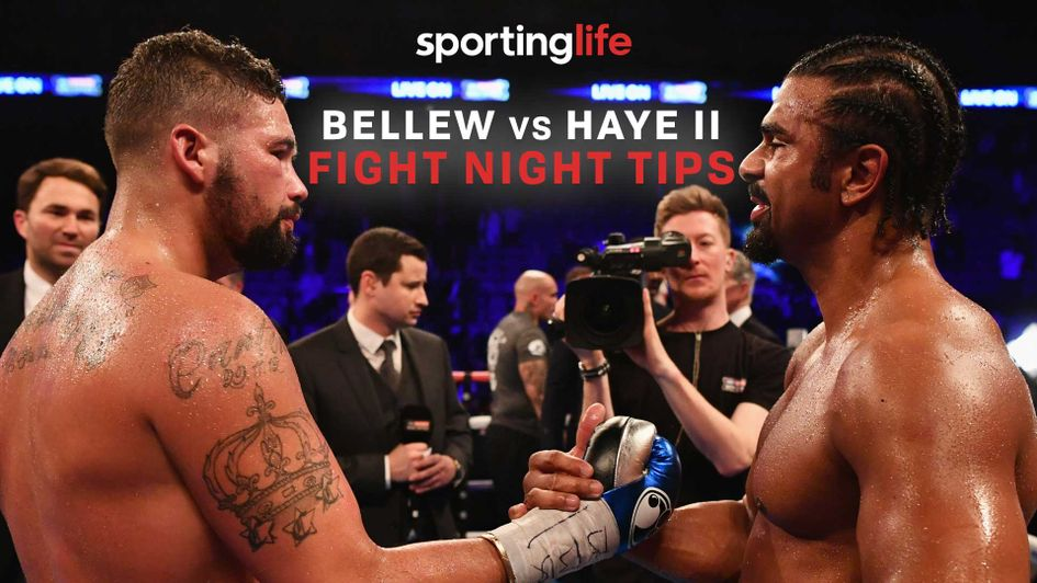 Who are we backing in the rematch between Tony Bellew and David Haye?