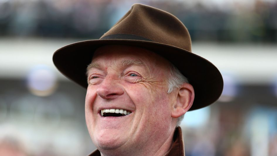 Willie Mullins is all smiles after Footpad's success