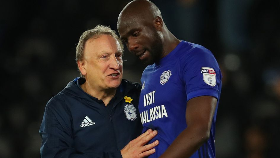 Cardiff City duo Neil Warnock and Sol Bamba