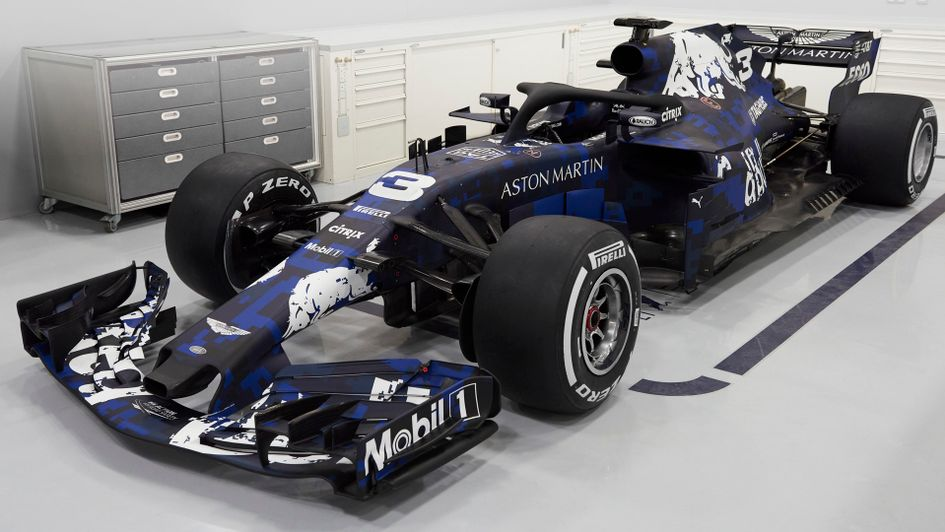 The Red Bull car for the new season