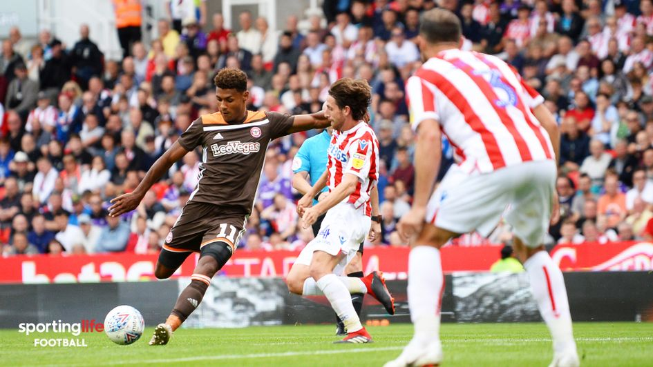 Ollie Watkins: The Brentford striker draws his side level v Stoke