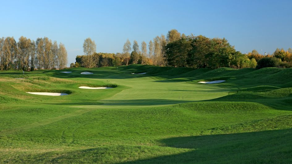 The fourth hole at Le Golf National