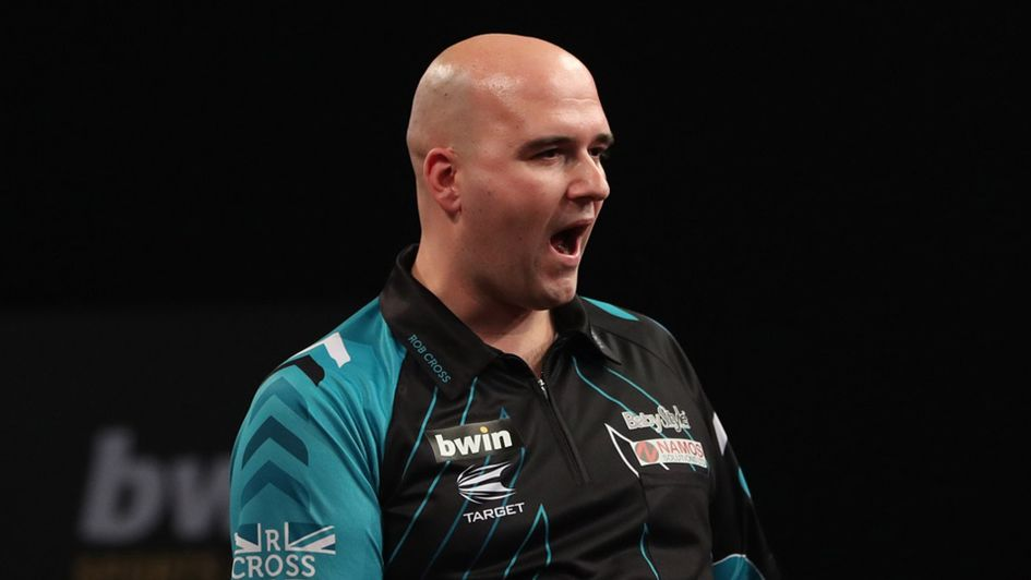 Rob Cross (Picture: Lawrence Lustig/PDC)