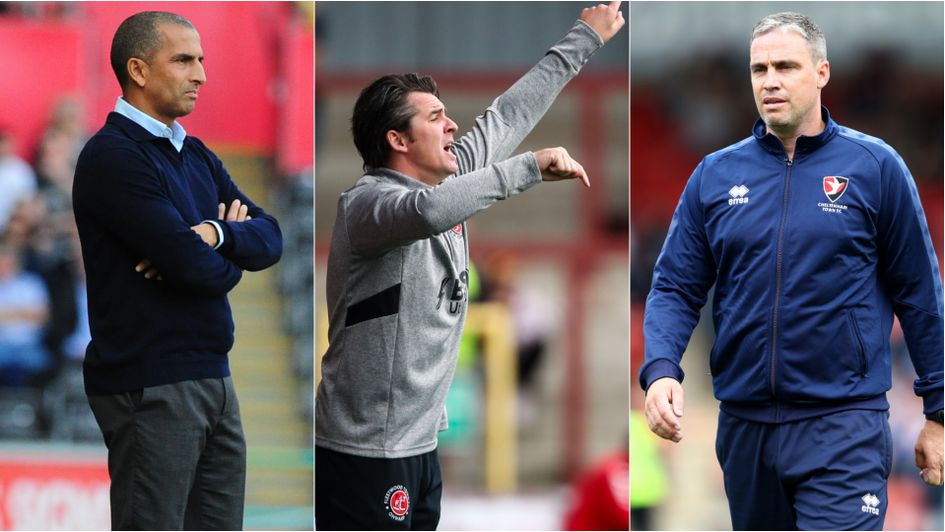Sabri Lamouchi, Joey Barton and Michael Duff: Manager of the Month award winners for September 2019