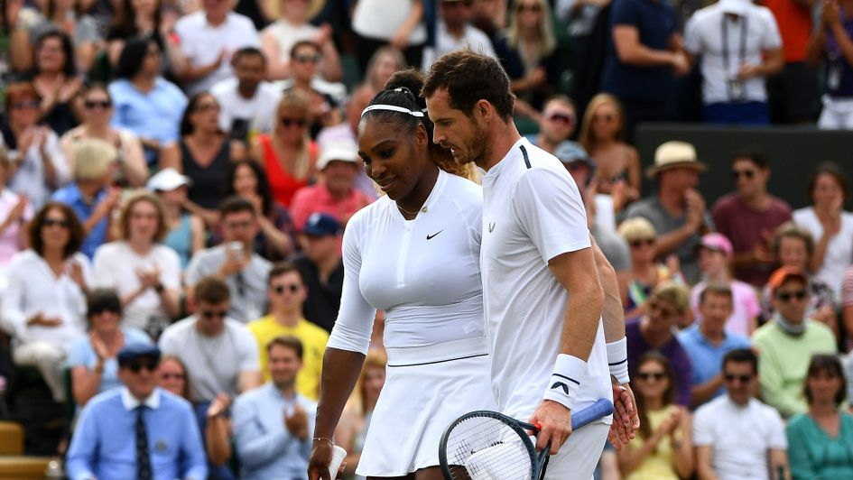 Serena Williams and Sir Andy Murray bowed out at Wimbledon