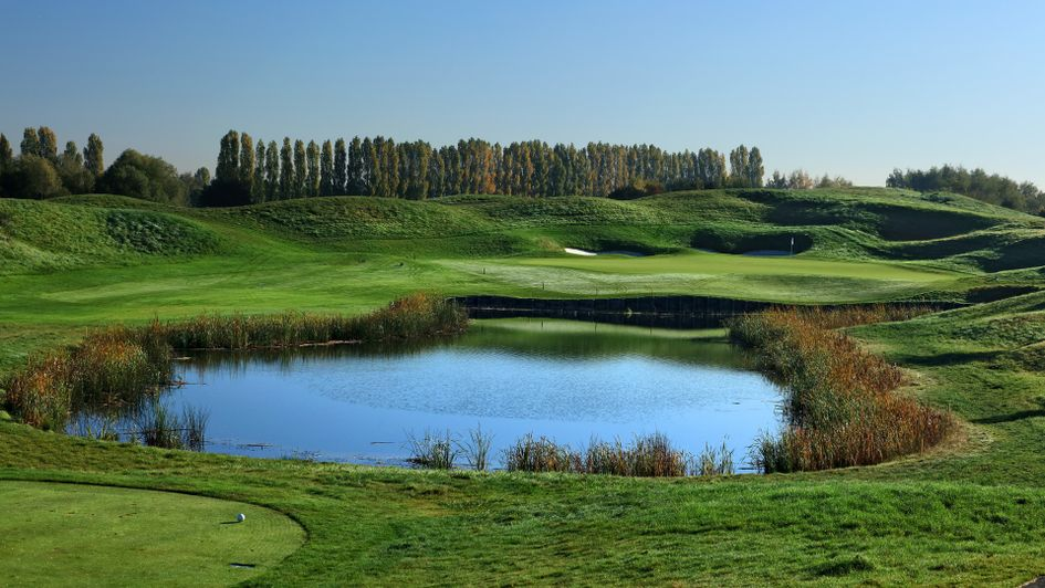 The 11th hole at Le Golf National