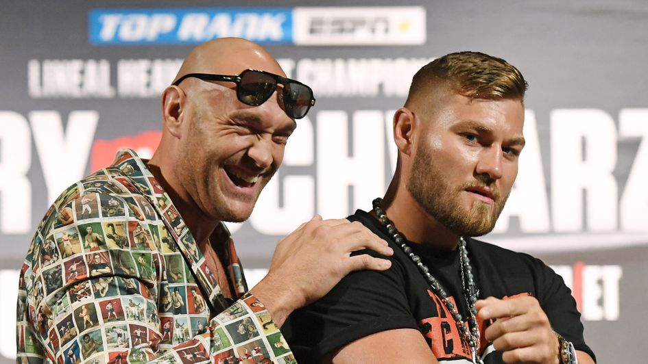 Tyson Fury and Tom Schwarz